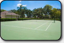 Briarwood's Tennis Court